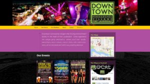 Image of the Downtown Himmarshee Village website