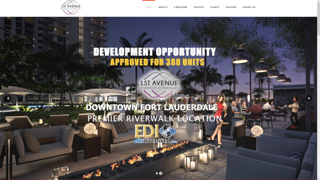 Image for 1st Avenue Residences website