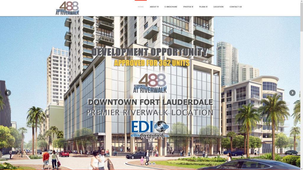 Image of the 488 Residences at Riverwalk website