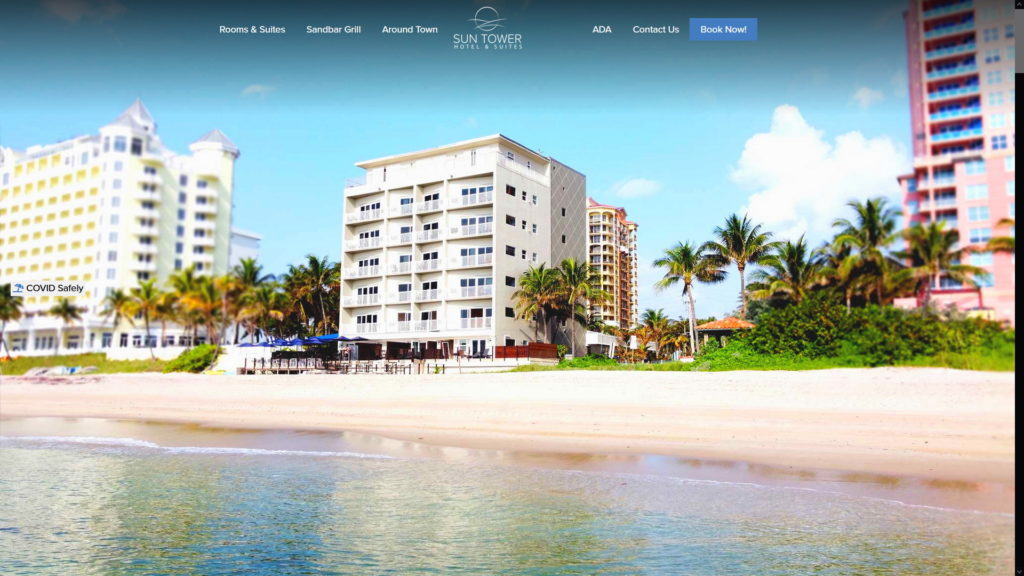 Image of Sun Tower Hotel & Suites websites